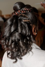 Natural Hair Creative Style 1
