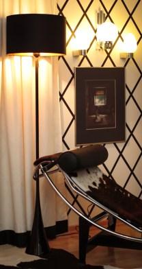 Chaise longue LC4, Cassina, floor lamp