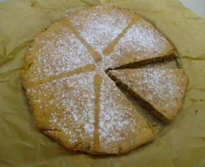 Il sapore della semplicità nella torta alle mandorle