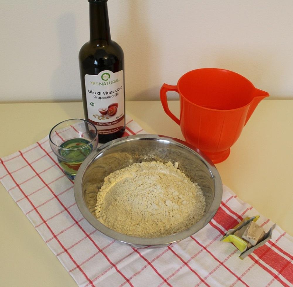 pizza di quinoa fatta in casa Silla e Pepe