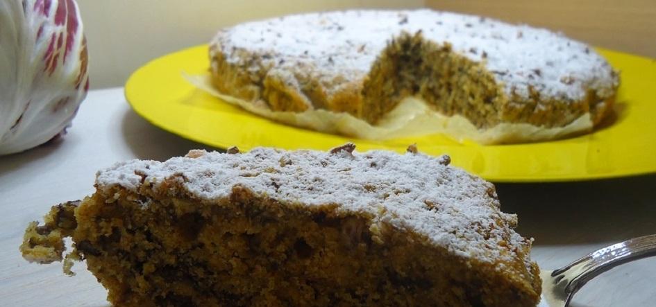 torta al radicchio Silla e Pepe