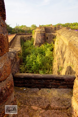 Goa India, Panjim-Portugese fort (20)