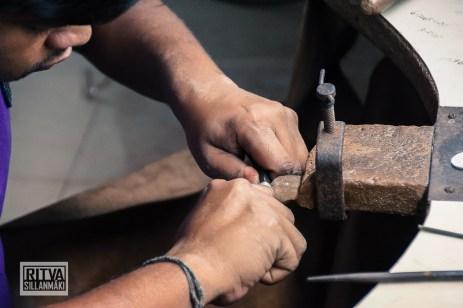 Working hands (1 of 4)