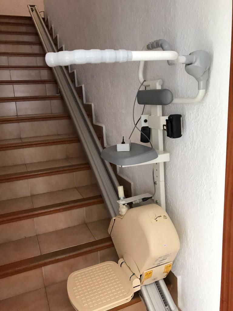 Tipos de escaleras que pueden llevar instalada una silla salvaescaleras  Infografa
