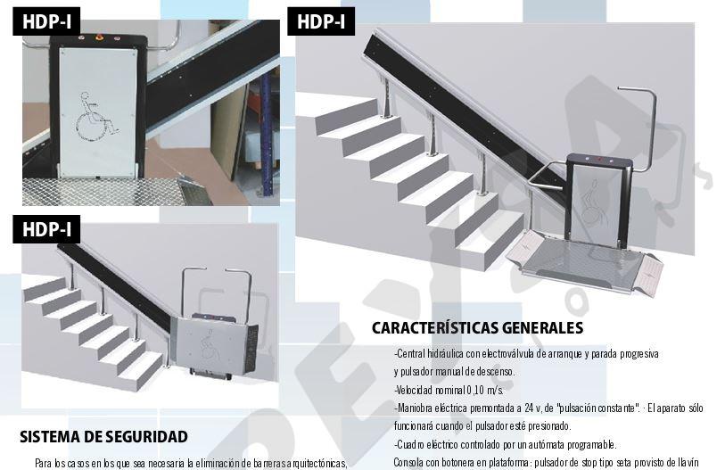 Plataforma Inclinada HDPi  SillaSalvaescalerases