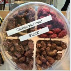 2lb gourmet roasted nuts