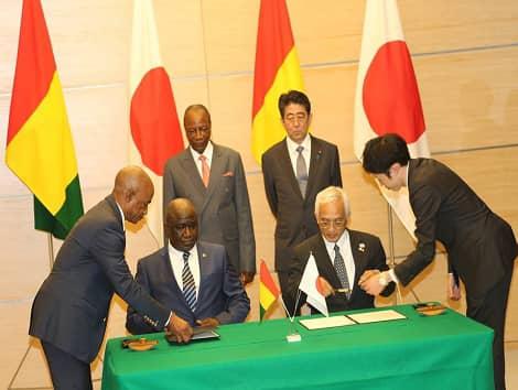 Guinée  Coopération sanitaire: le Japon au secours avec 20 millions de dollars.