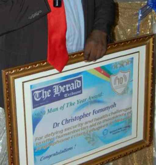 """Cameroon: Dr. Christopher Fomunyoh named """"Man of the Year"""""""