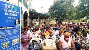 Cameroon Anglophone-Crisis: Relief and Hope The Fomunyoh Foundation Gifts IDPs in Kumba_26-07-21