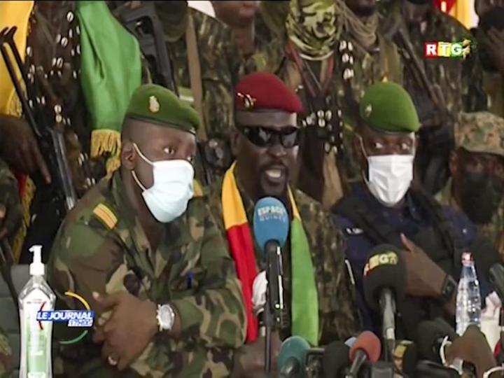 Guinée: conclaves avec le CNRD: les engagements et mises en garde du chef de la junte_15-09-21