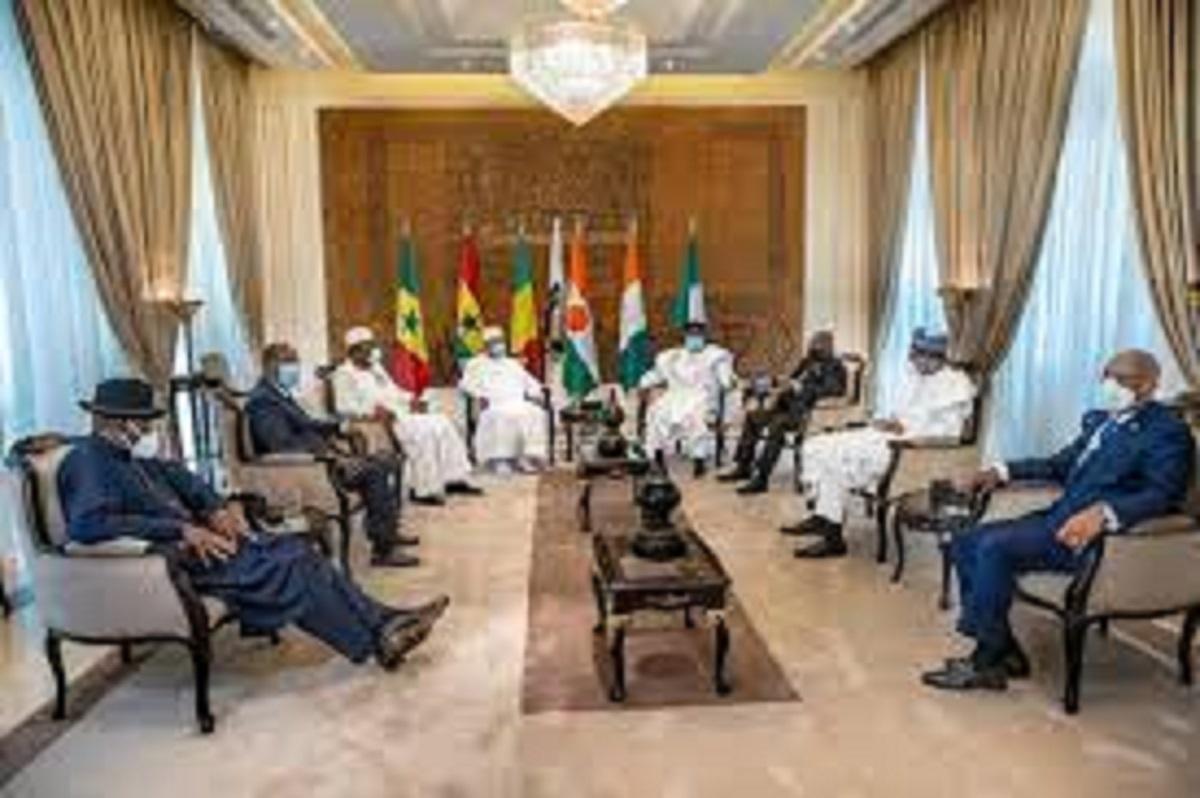 Guinée : La Cedeao, suspend le pays suite au coup d'état perpétré par l'armée_09-09-21