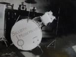 George and Drum Kit. Photo Courtesy Pam Coates