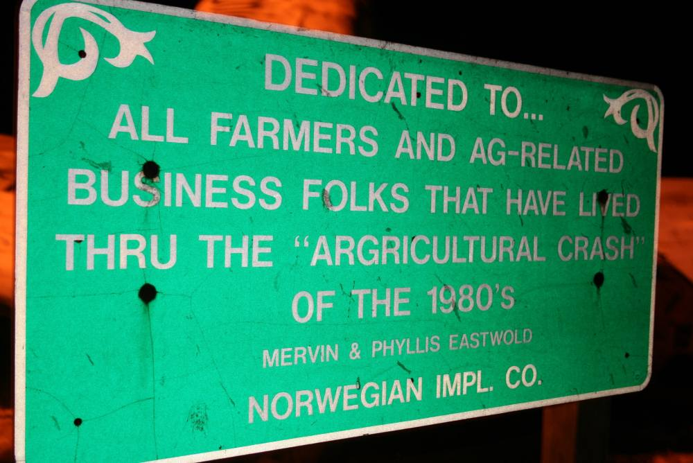 Agricultural Crash Monument in Norway, Illinois