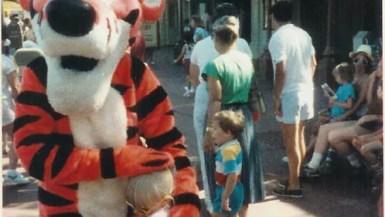 Me and Tigger at Disney