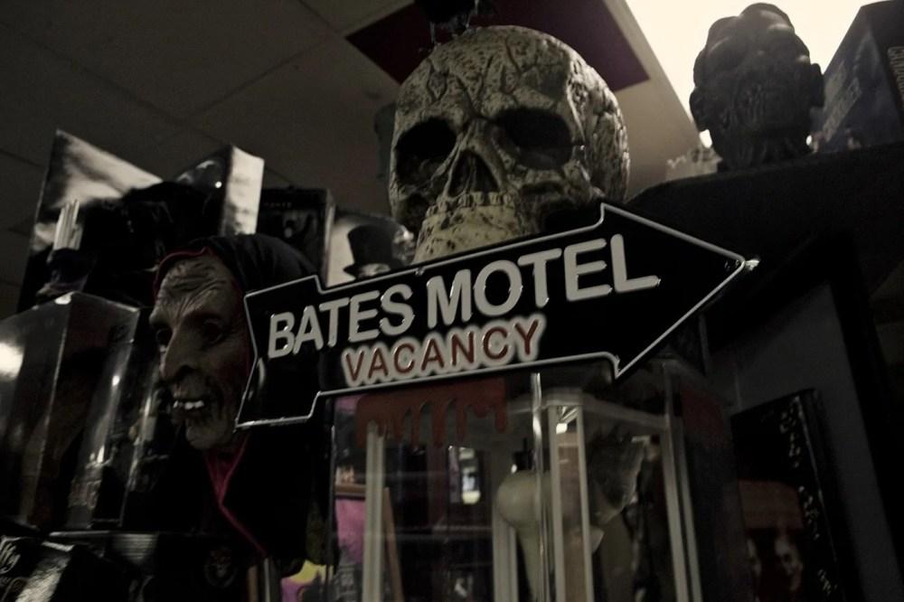 Bates Motel sign at Americana Hollywood Museum in Metropolis, Illinois