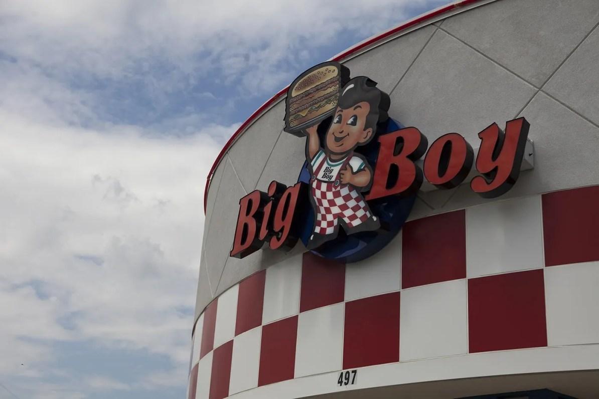Big Boy Statue - I-94 Exit 169 in Michigan
