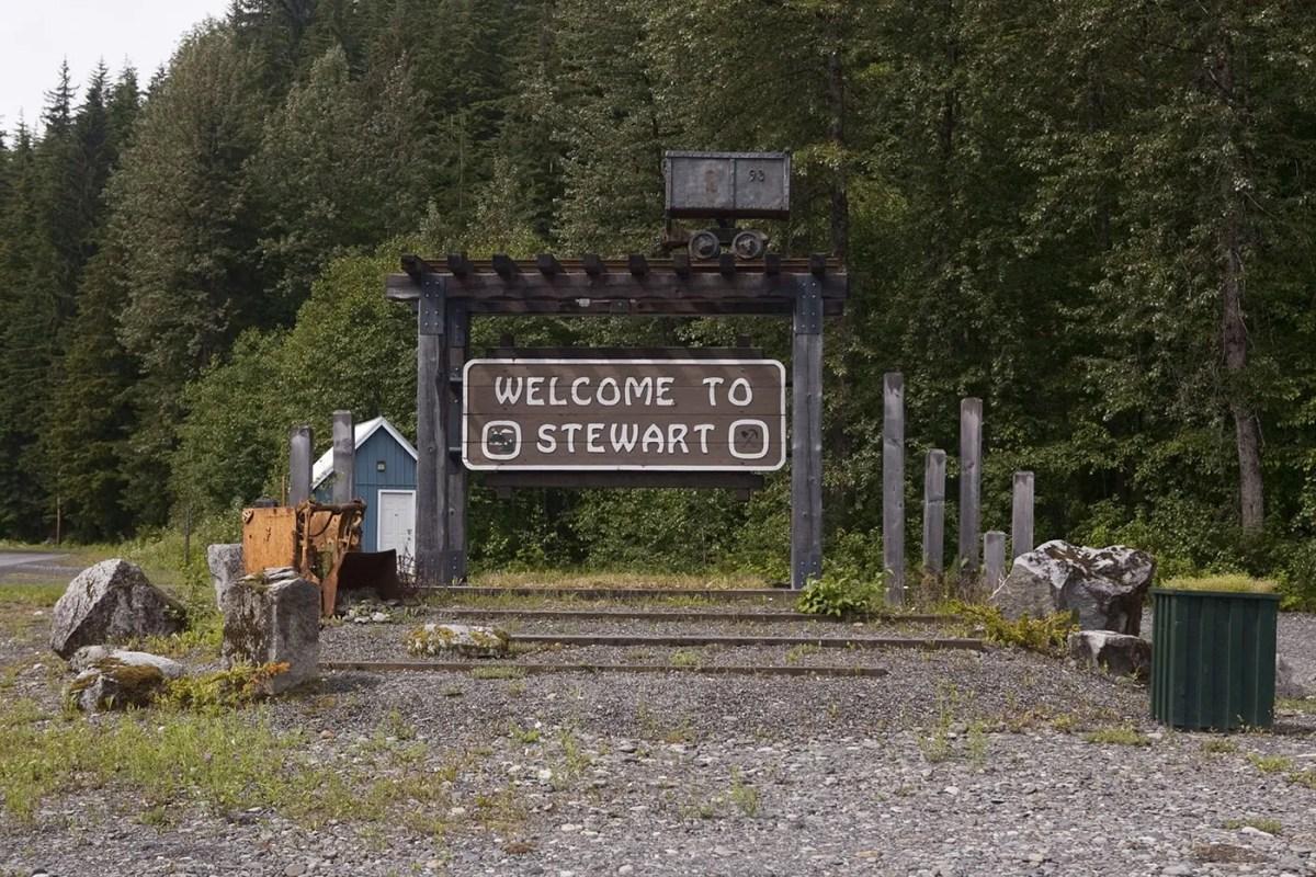 Visiting Stewart, British Colombia & Alaska