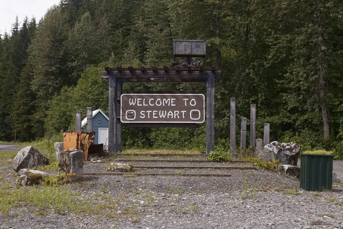 Visiting Stewart, British Colombia, Canada.