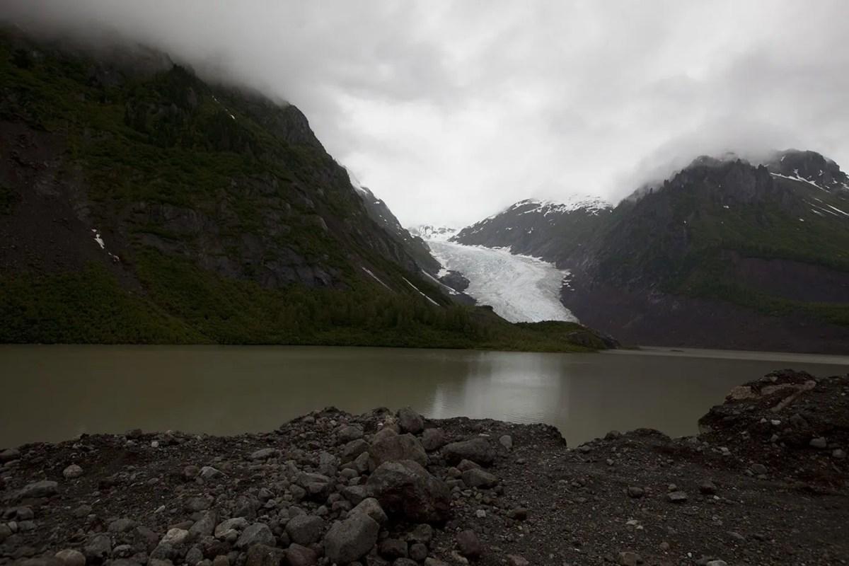 Bear Glacier in Stewart, British Columbia