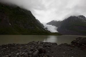 Bear Glacier in Steart, British Columbia, Canada
