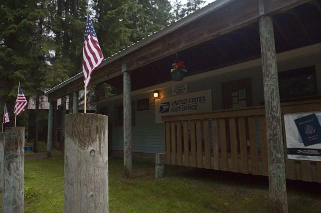 Hyder, Alaska Post Office.