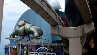 Science Fiction Museum and Hall of Fame in Seattle, Washington.