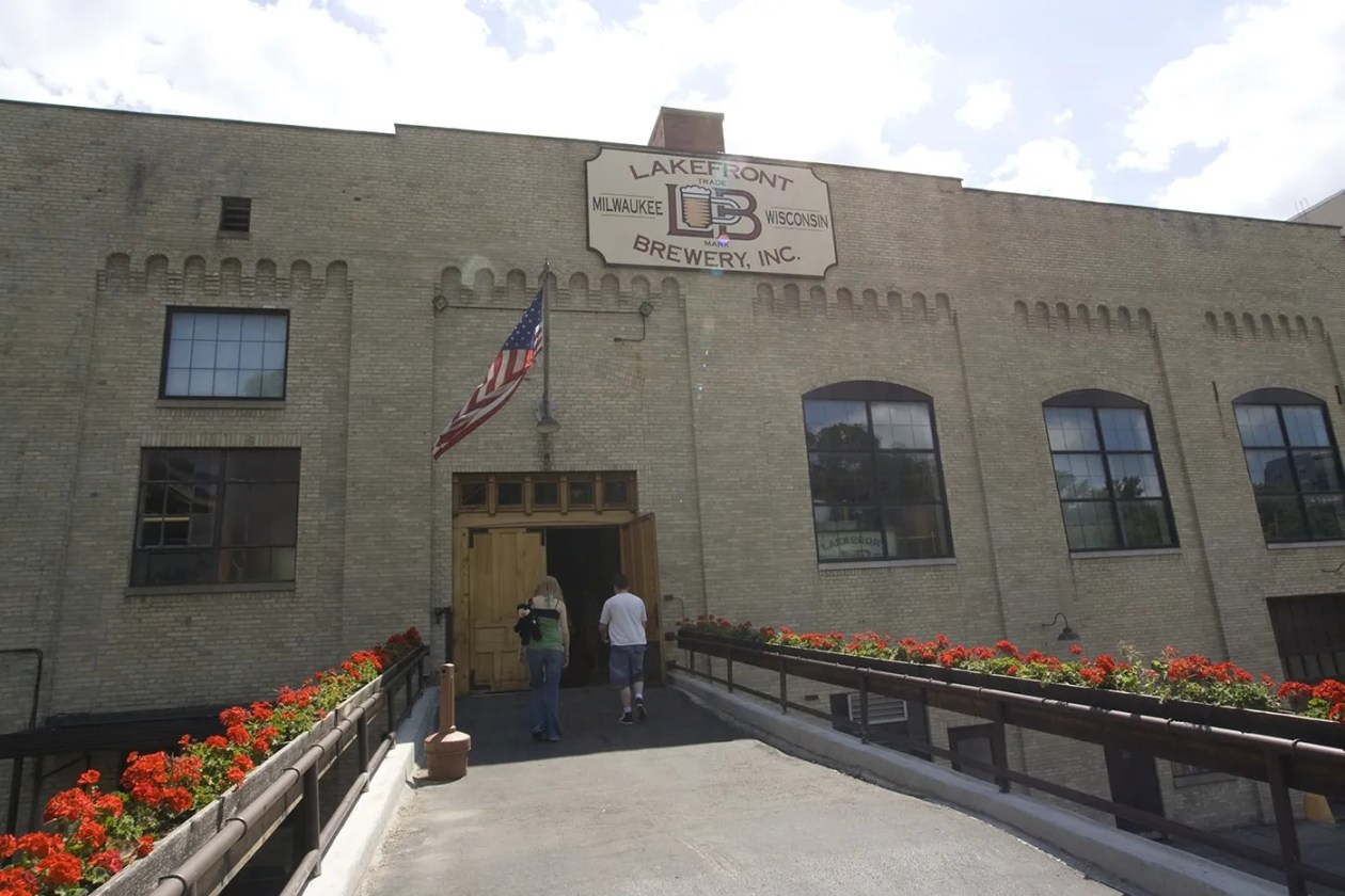 Lakefront Brewery Tour in Milwaukee, Wisconsin