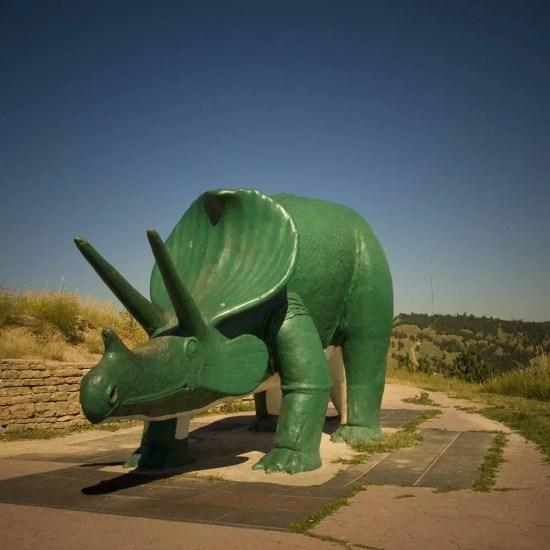 Rapid City Dinosaur Park in South Dakota