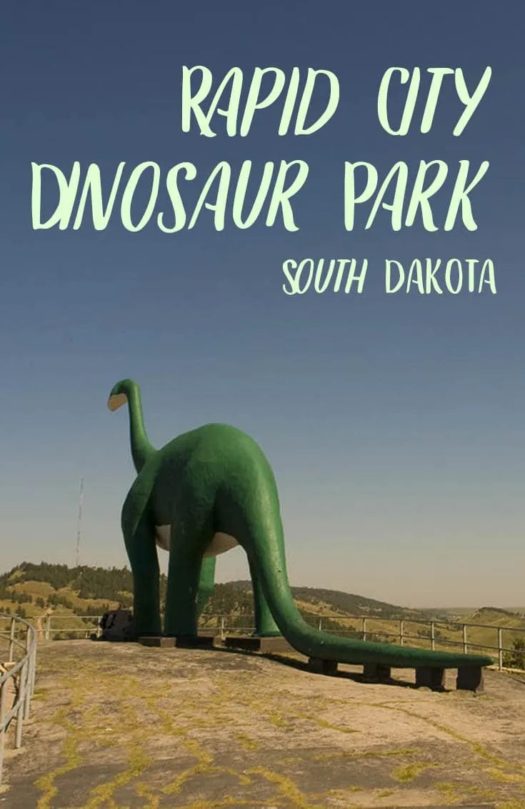 Rapid City Dinosaur Park in South Dakota - Roadside Attractions in South Dakota