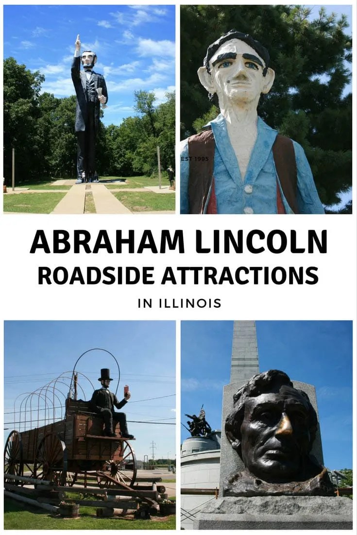 Abraham Lincoln Roadside Attractions in Illinois