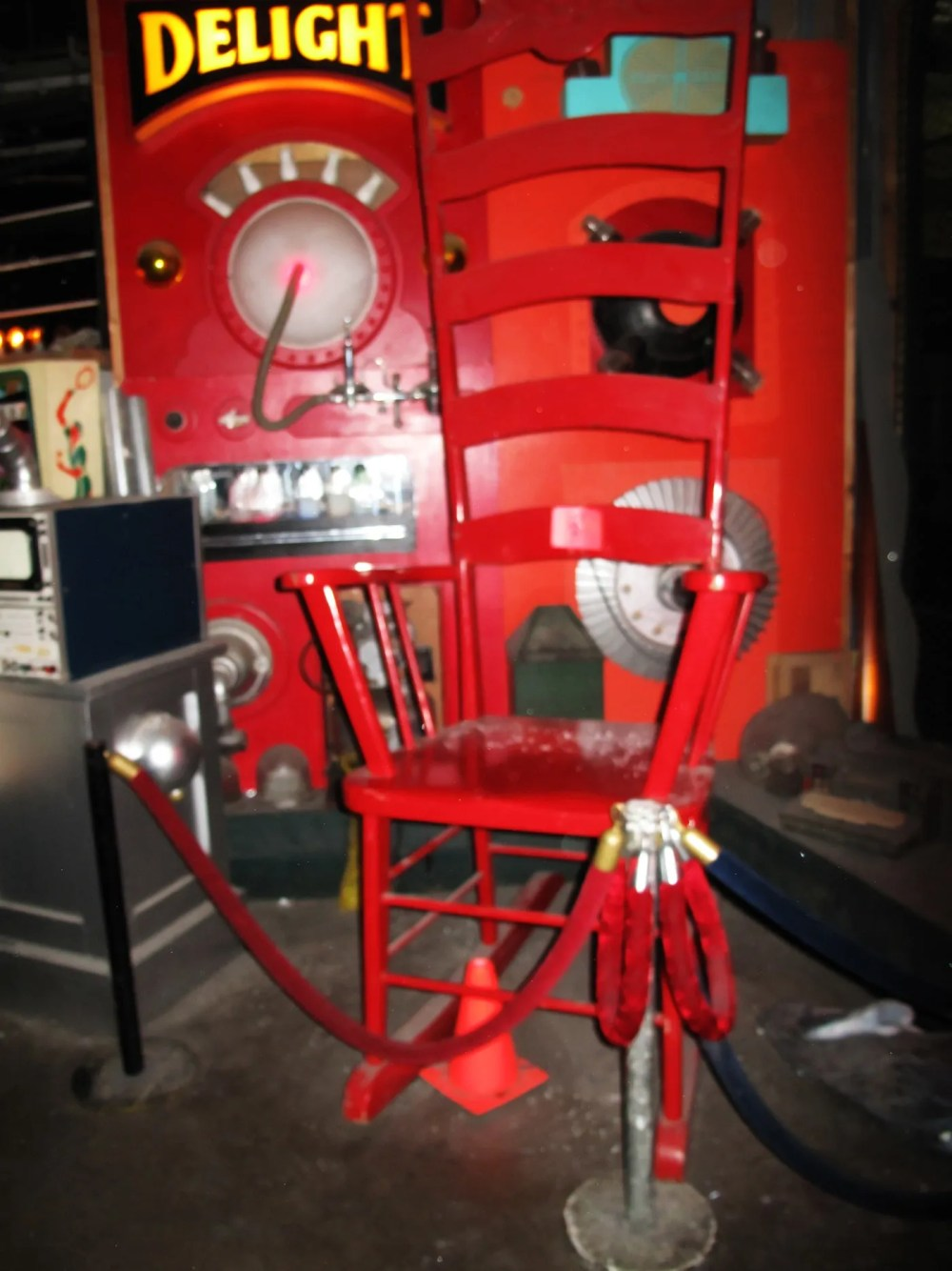 Giant Chair at City Museum's Museum of Mirth, Mystery, and Mayhem in St. Louis, Missouri.