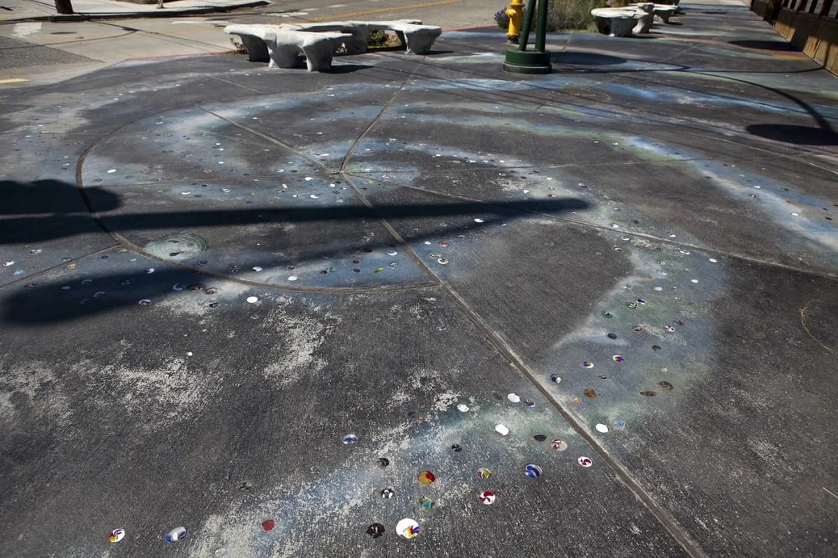 Space Sculpture in Fremont, Seattle, Washington