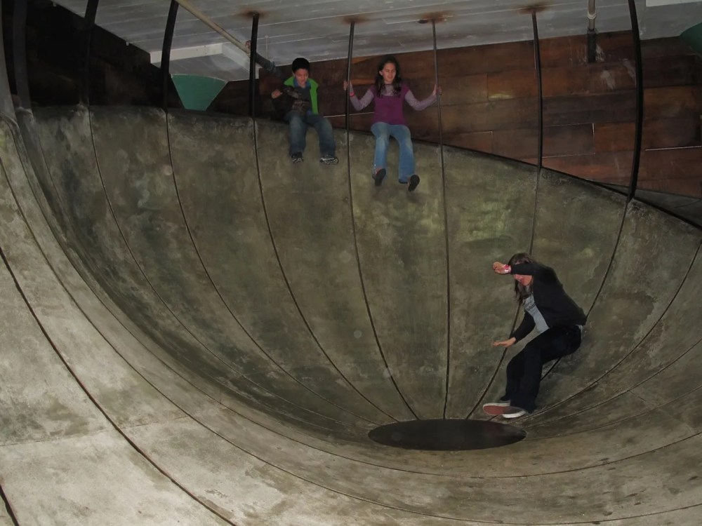 Skateless Park at the City Museum in St. Louis, Missouri.