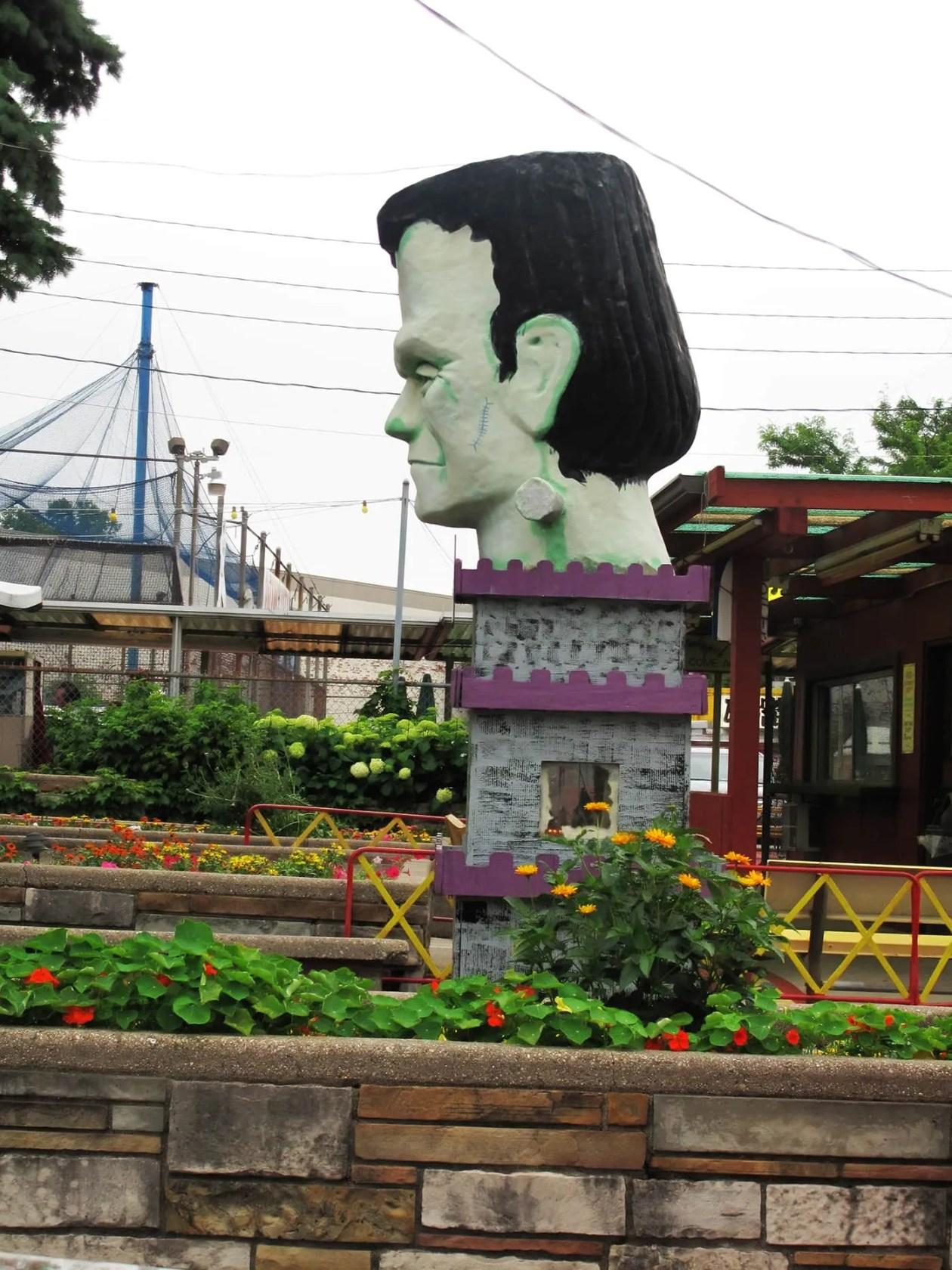 Frankenstein at Novelty Golf in Lincolnwood, Illinois.