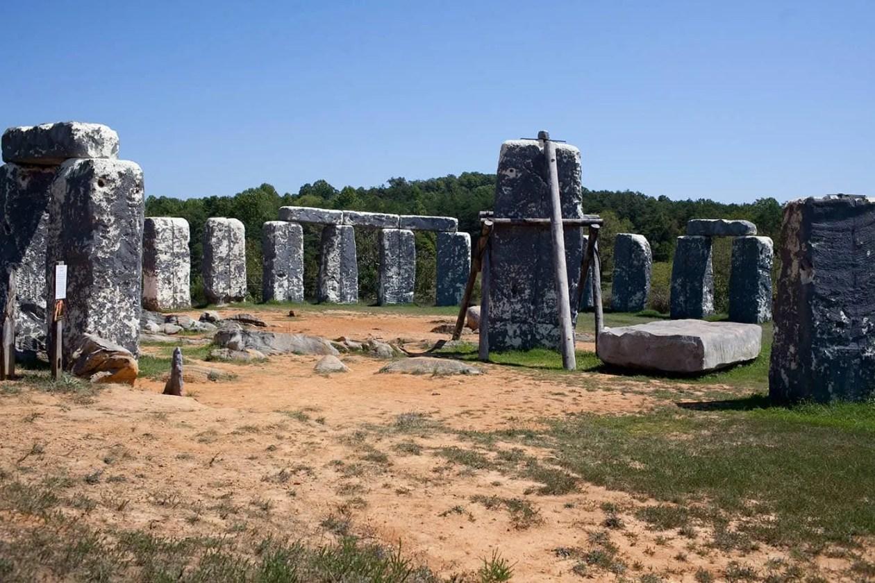 Foamhenge in Natural Bridge, Virginia - Roadside Attractions in Virginia