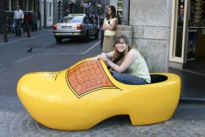 Giant Clog in Amsterdam
