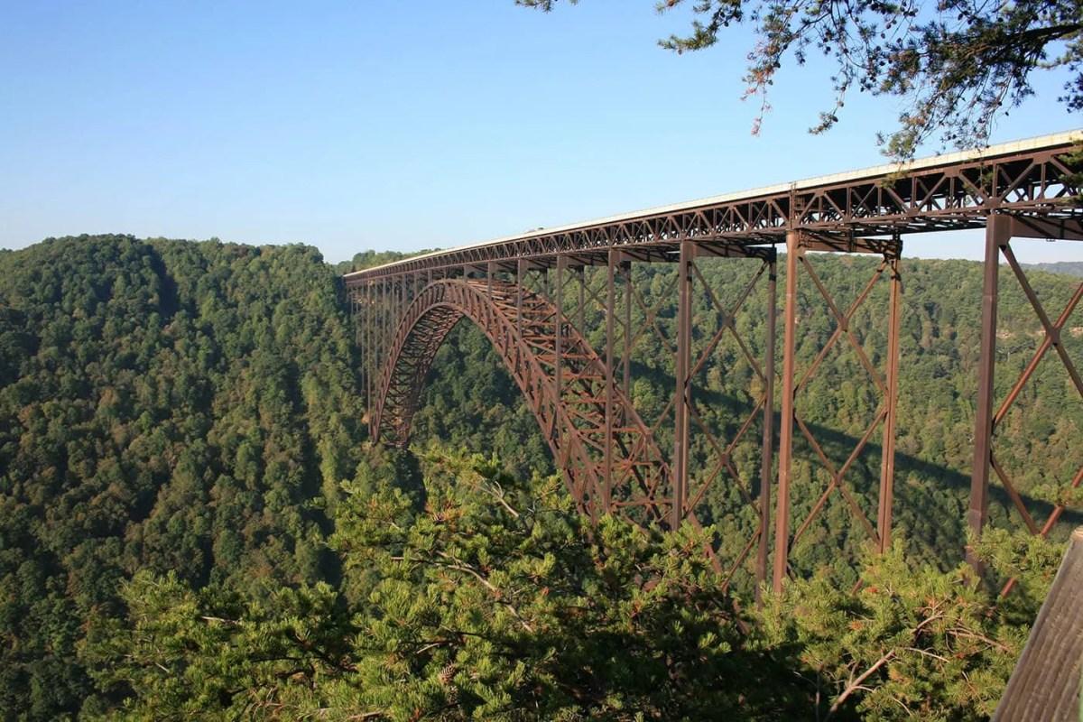 New River Gorge Bridge in Fayetteville, West Virginia