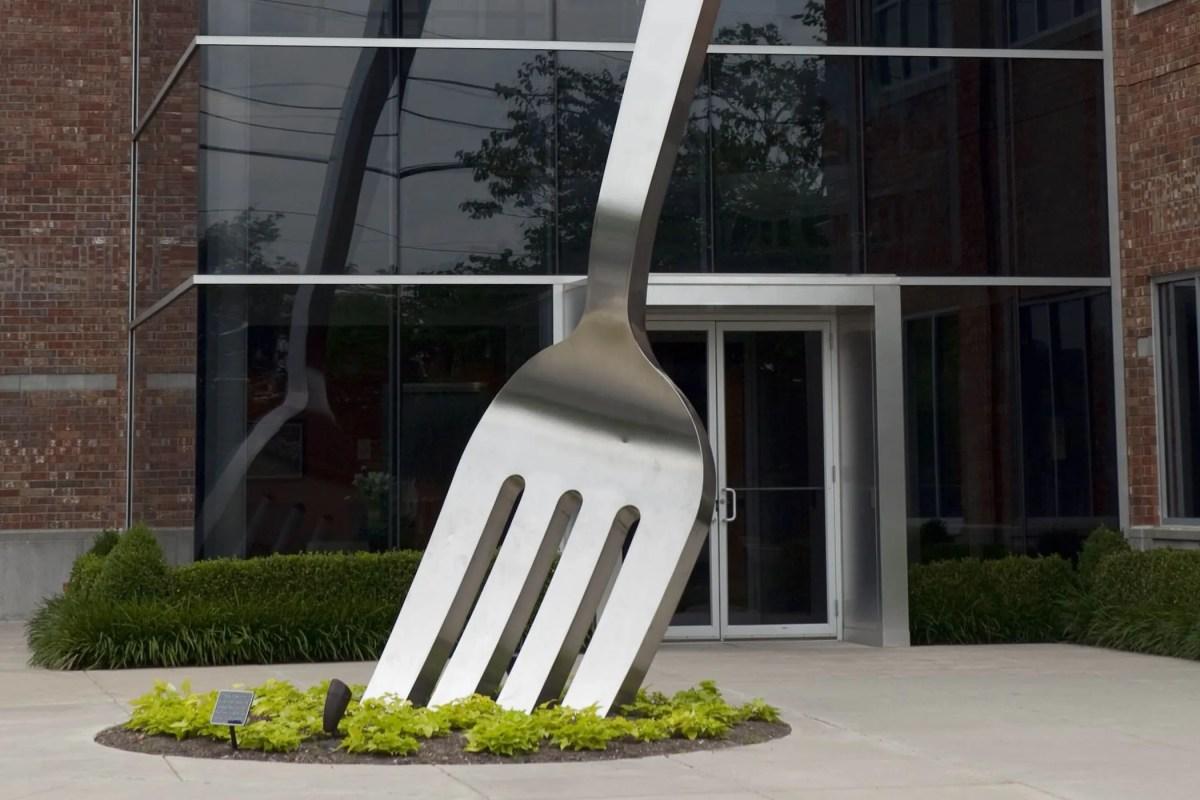 🍴 World's Largest Fork in Springfield, Missouri