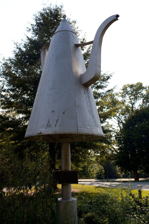 Big Coffee Pot in Winston-Salem, North Carolina