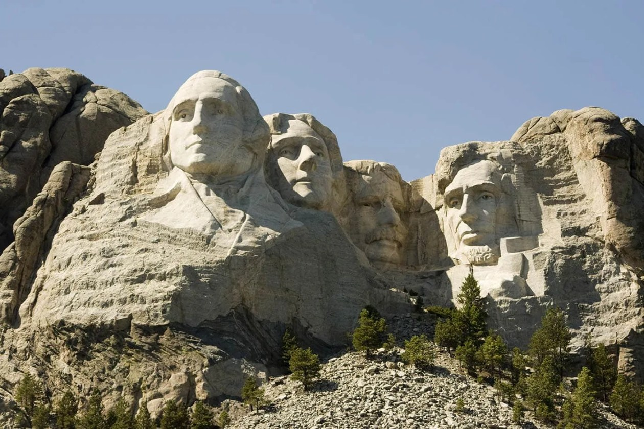 Mount Rushmore in Keystone, South Dakota - Mount Rushmore Road Trip