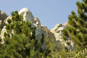 Mount Rushmore in Keystone, South Dakota