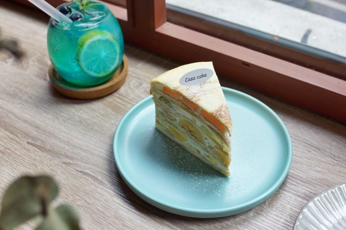 新竹下午茶│Casa Cafe 千層蛋糕專賣。全新裝潢!質感升級的手工千層蛋糕*