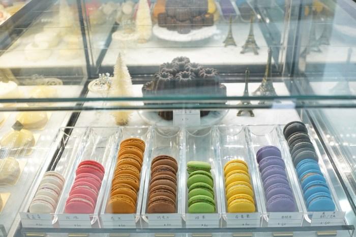 新竹下午茶│BonBon Sweet 甜點咖啡廳。繽紛法式馬卡龍與千層蛋糕*