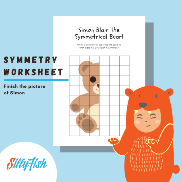 Symmetry Worksheet _ Silly Fish Learning (2)