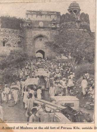 muslim refugees during partition of india
