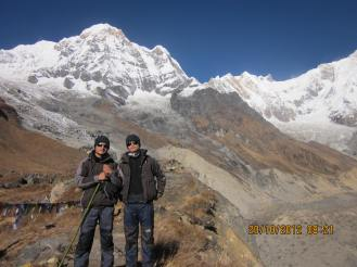 South of Annapurna I