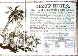 flyer for hunting in india british raj