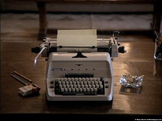 Typewriter in The Shining