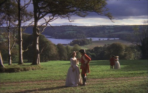 Use of wide angle lens in Barry Lyndon