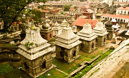 Shrines around pashupatinath